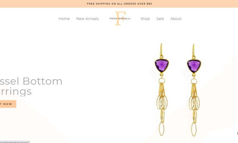 Shopify Pro - Fego Gioielli Jewelry