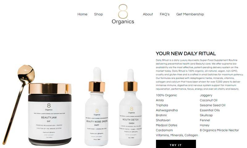 Shopify Pro - 8Organics