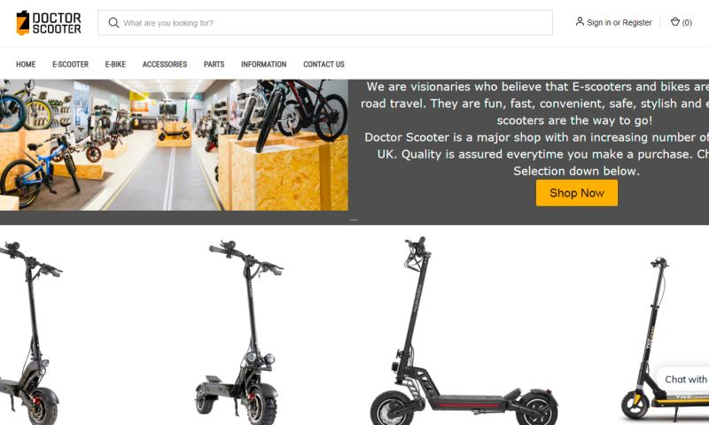 Shopify Pro - Doctor Scooter