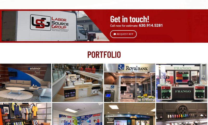 Buscemi IT Solutions - Laborsource Group Website