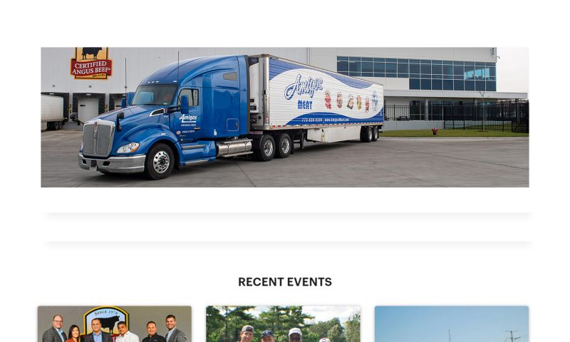 Buscemi IT Solutions - Amigos Meat's Website