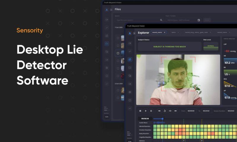 Cieden - Desktop Lie Detector Software