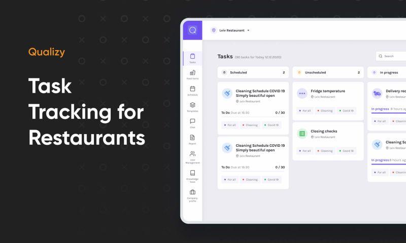 Cieden - Task Tracking Tool for Restaurants