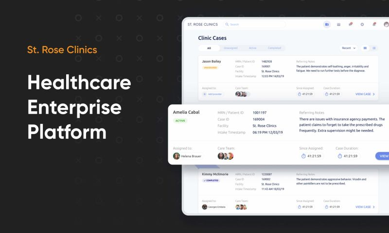 Cieden - Healthcare Enterprise Platform