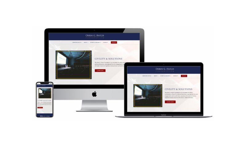 Six40 Marketing - Orrin G. Hatch Foundation