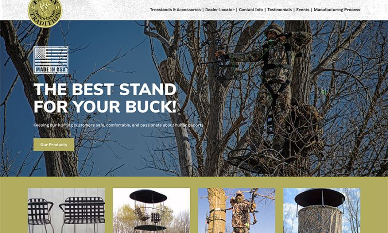 Miller Media - Family Traditions Treestands