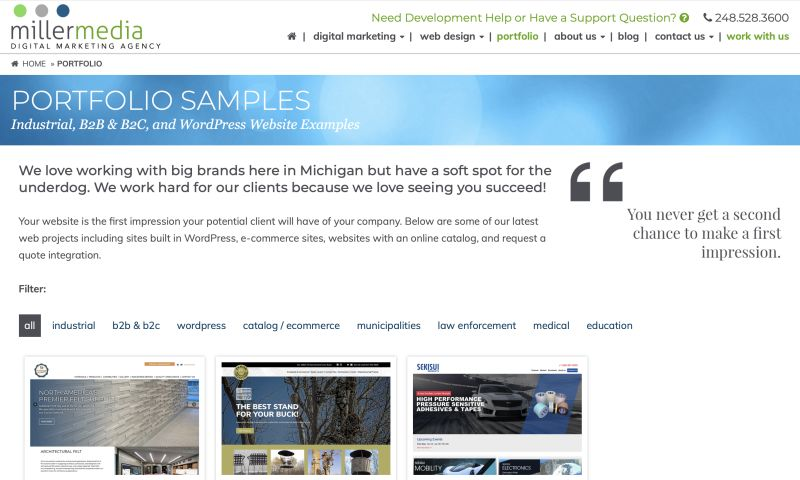 Miller Media - Miller Media Portfolio