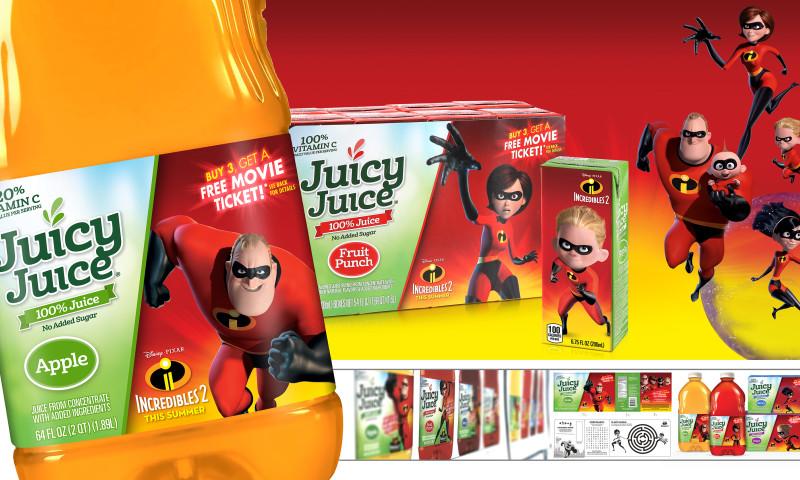 Product Ventures - Juicy Juice / Disney-Pixar