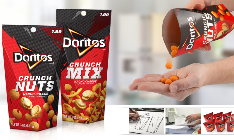 Product Ventures - Doritos Crunch Nuts & Mix Packaging