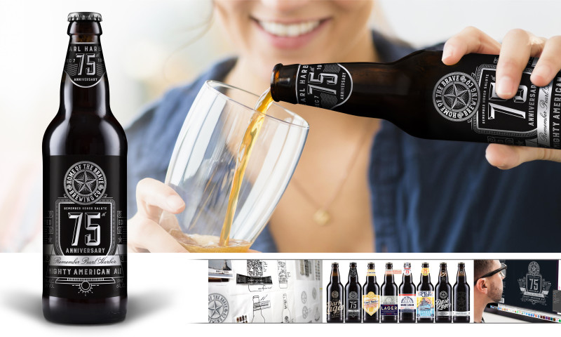 Product Ventures - 75th Anniversary of Pearl Harbor, Mighty American Ale