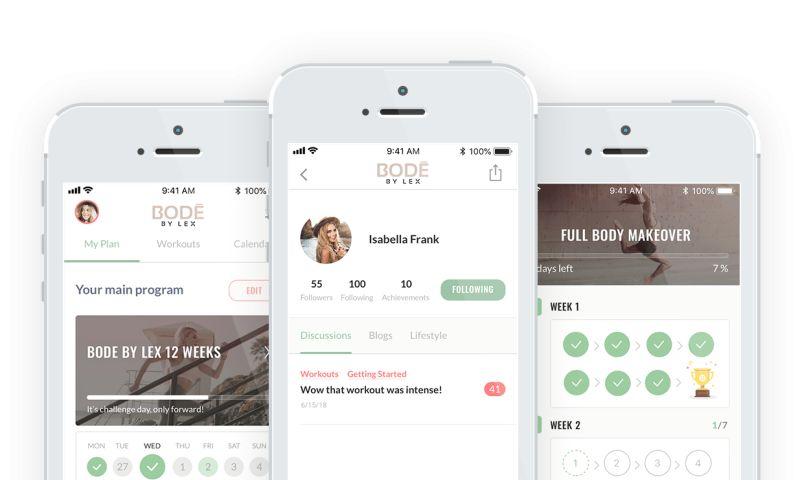 Net-Craft.com - Bode By Lex Fitness App