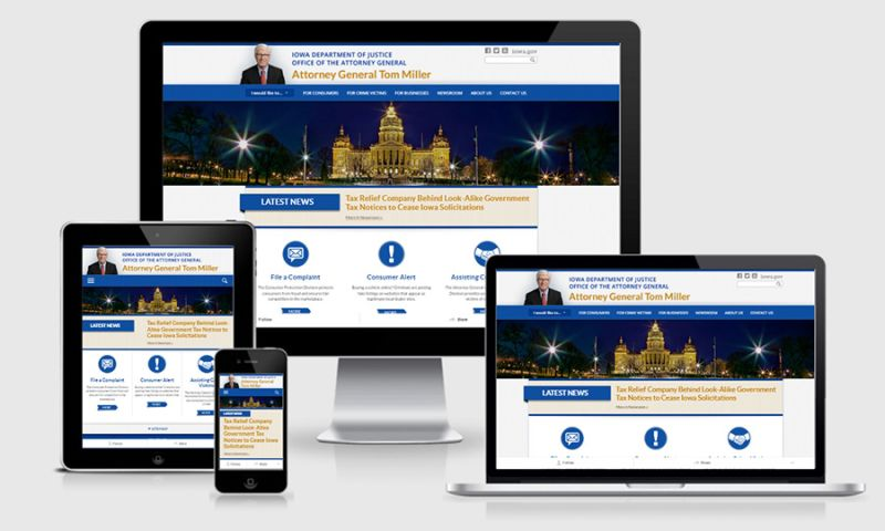 Global Reach Internet Productions - Iowa Attorney General- Security Meets Quality