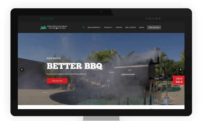 Net-Craft.com - Green Mountain Grills Website