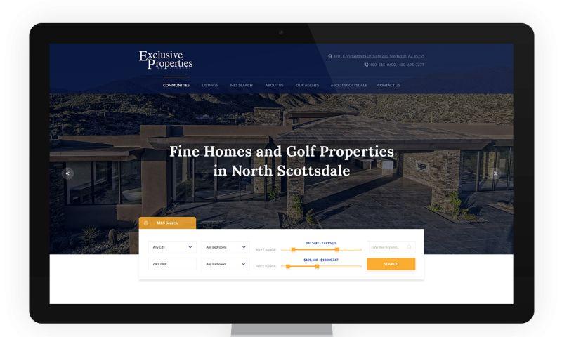 Net-Craft.com - Exclusive Properties Website