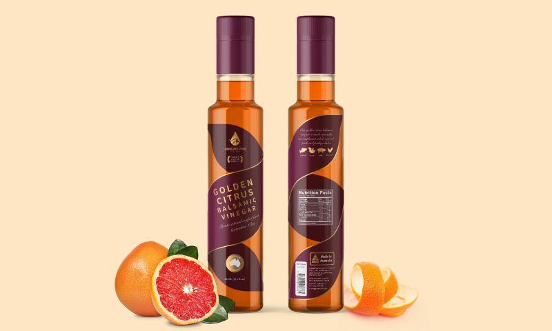 vve.design - Balsamic Vinegar Bottle Label