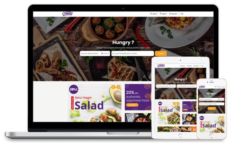 Fullestop - Cravez- restaurant food Delivery Application with Customer facing website