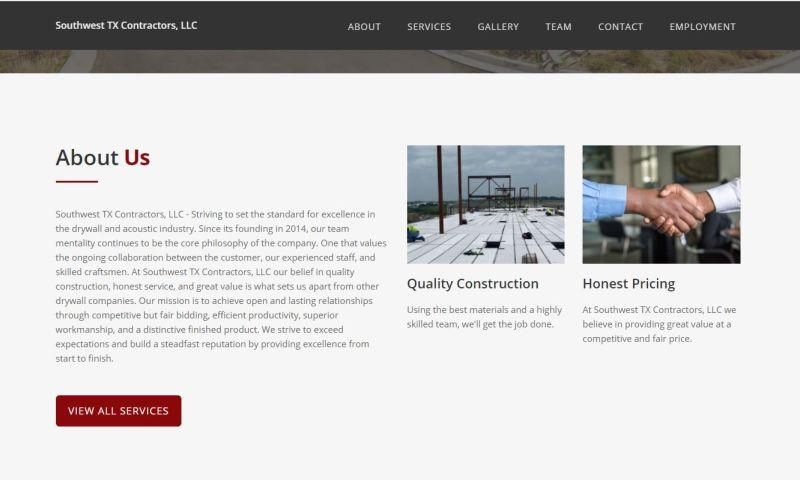 Lorenzana Web Design - Southwest Texas Contractors