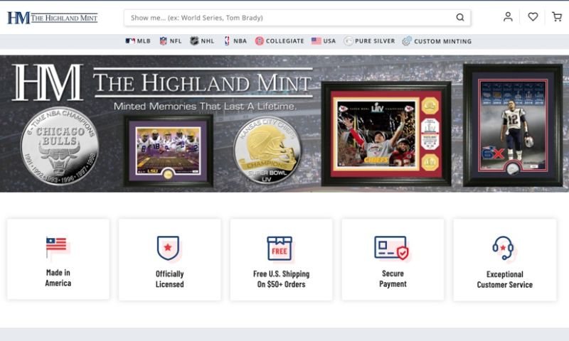 Magneto IT Solutions - The Highland Mint