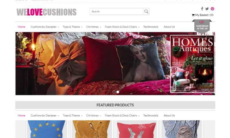 Magneto IT Solutions - WE LOVE CUSHIONS