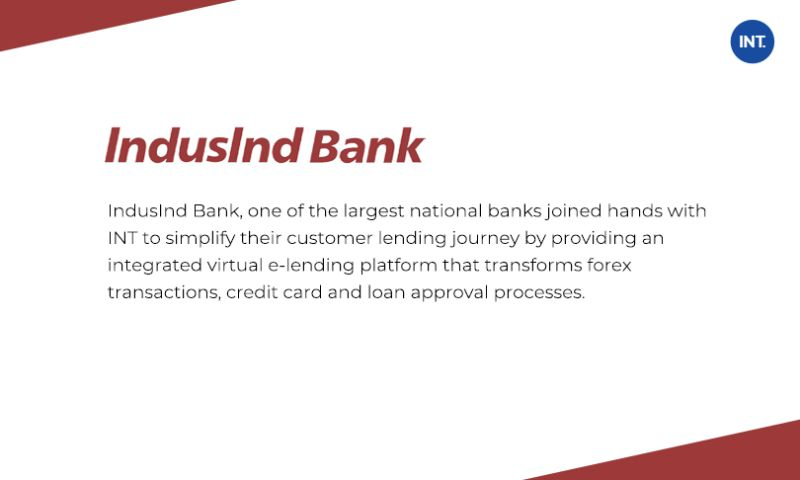 Indus Net Technologies - Transforming Digital Lending for India's Fast Growing Banks by minimizing silos and ensure API-fication of assets with fast and agile development