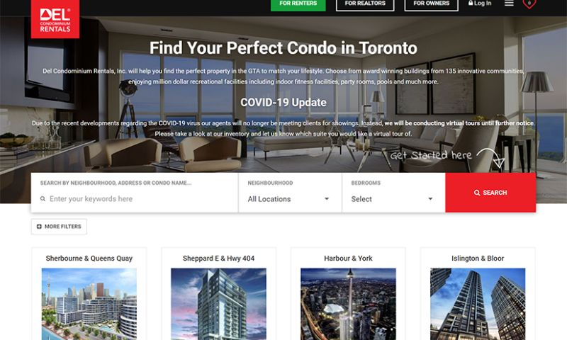 Brainvire Infotech Inc - Del Condominium Rentals