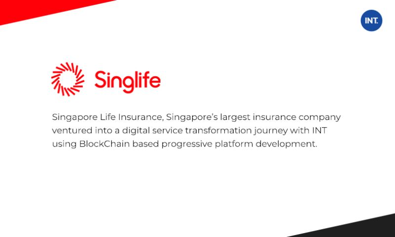 Indus Net Technologies - Blockchain-based Web and Mobile Portals Helped Singapore Life
