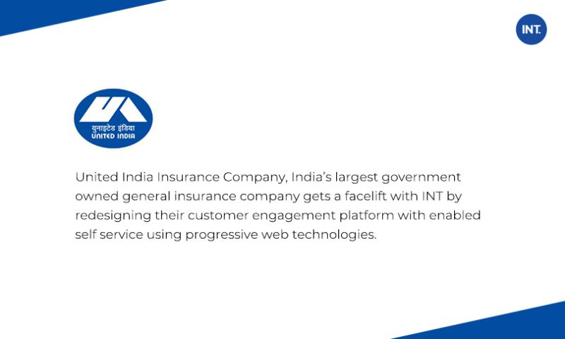 Indus Net Technologies - Enhanced customer experience with intuitive and super engaging interface for one of the largest public insurance provider in India.
