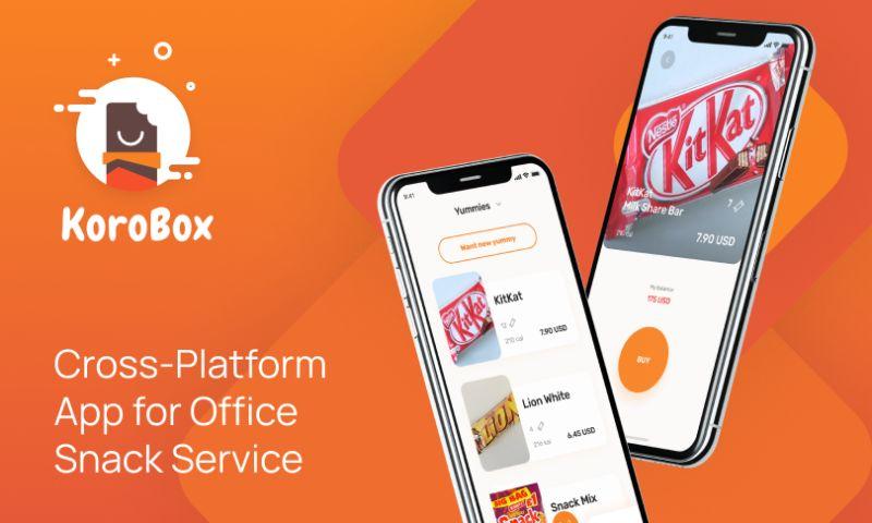 Brocoders - Сross-Platform App for Office Snack Service | Korobox