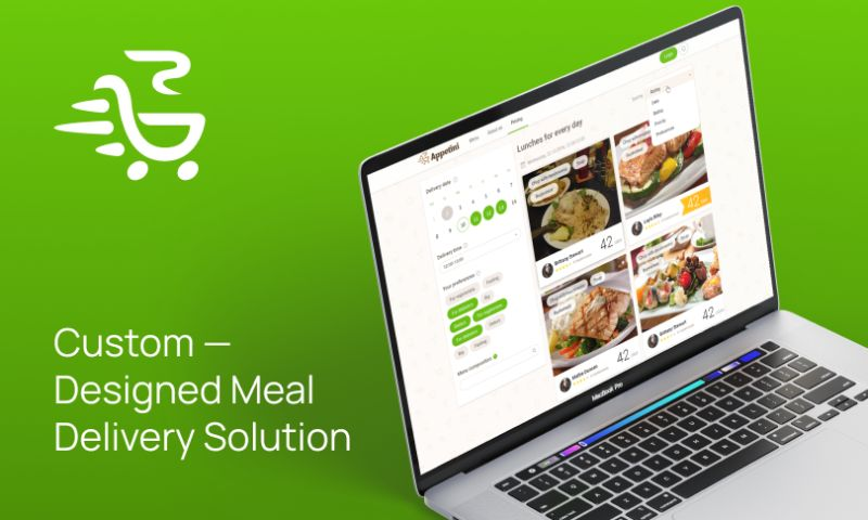 Brocoders - Custom-Designed Meal Delivery Solution | Appetini
