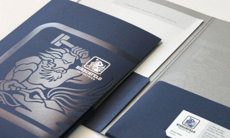 Bronson Ma Creative - Branding work for Hirschfeld Industries