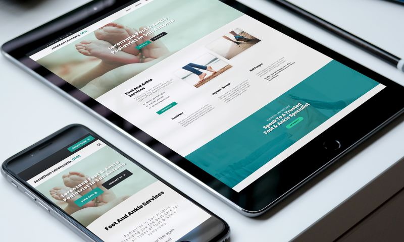Southtown Web Design - Sa Foot Doctor