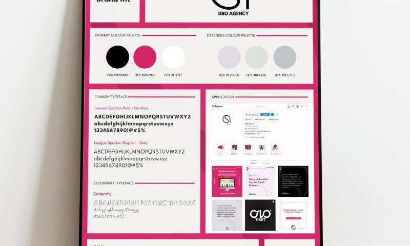 DBO Agency - Social Media Brand Kit Design