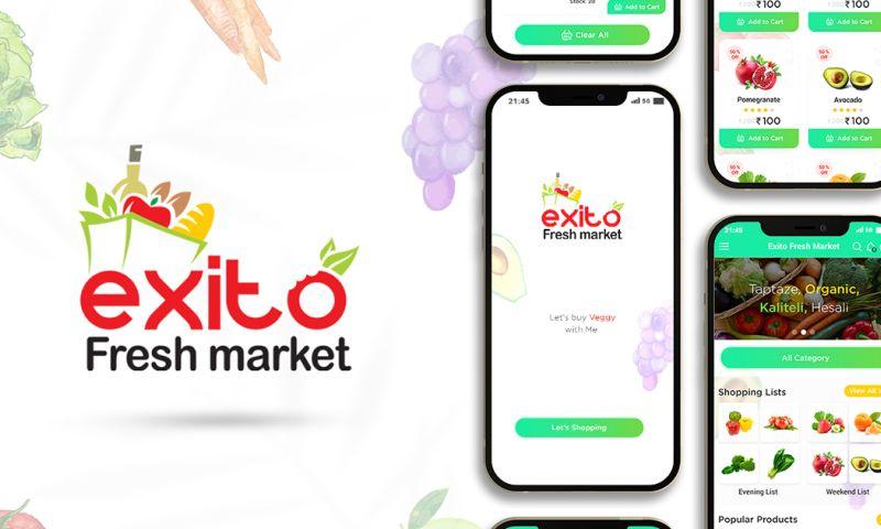 Softqube Technologies - Exitofresh Super Market