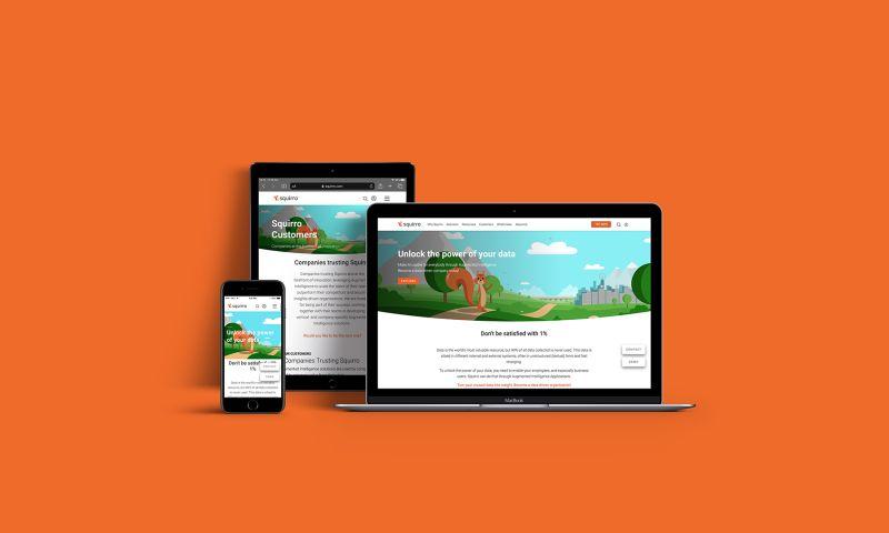 Appetite Creative - Squirro Branding & Web Development