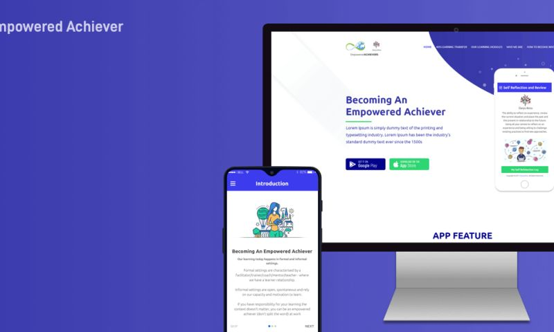 iWebServices - eLearning & Quiz-based behavior improvement App