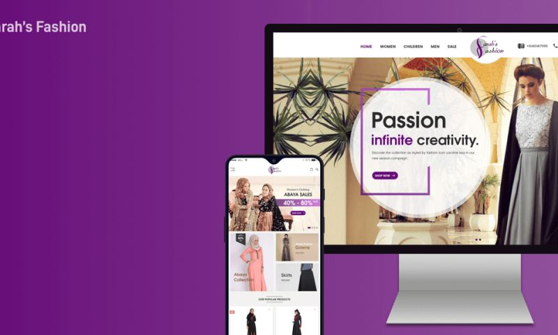 iWebServices - eCommerce App & Website For a Fashion Brand