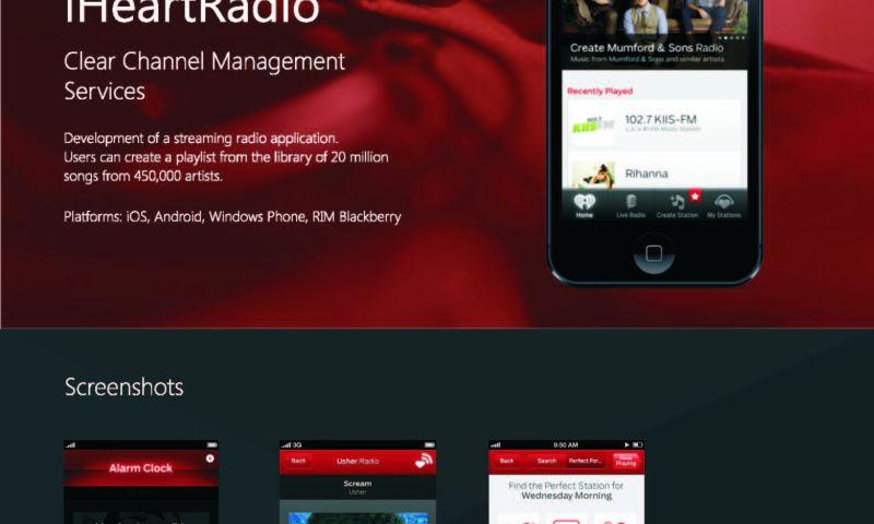 Qulix Systems - iHeartradio, Mobile application development