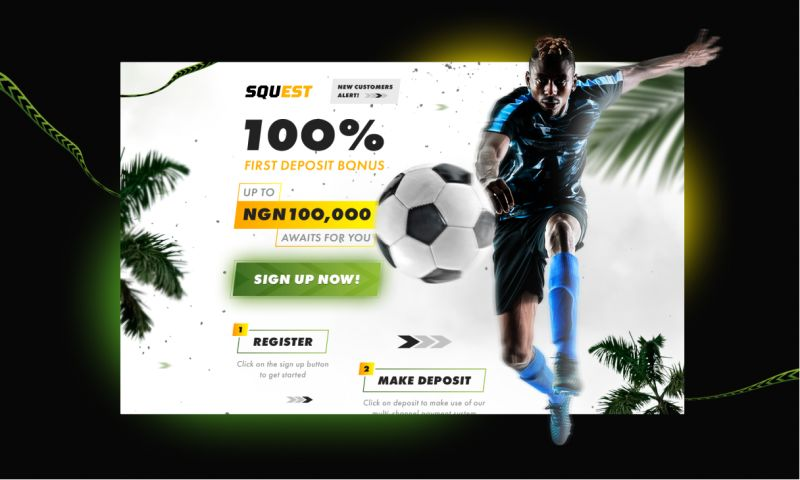 Clickable - SQUEST — Soccer Promo Page