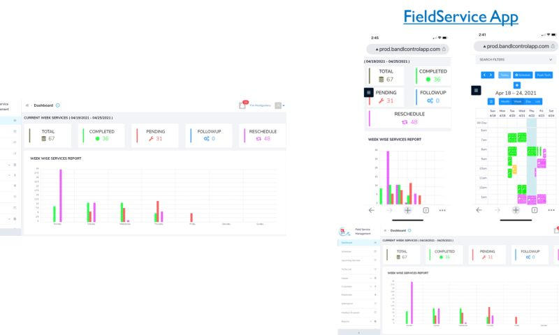 TIMIT SOLUTIONS - Field-Service Smart Web App