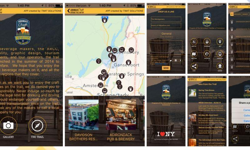 TIMIT SOLUTIONS - Craft Beverage Trail App