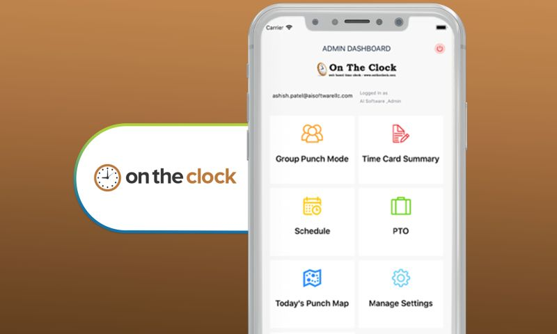 SharpQuest, Inc. - On the Clock - Employee Time Tracking