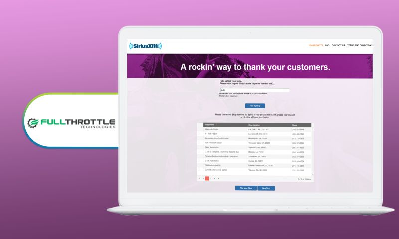 SharpQuest, Inc. - Full Throttle Technologies - Partner Onboarding Portal