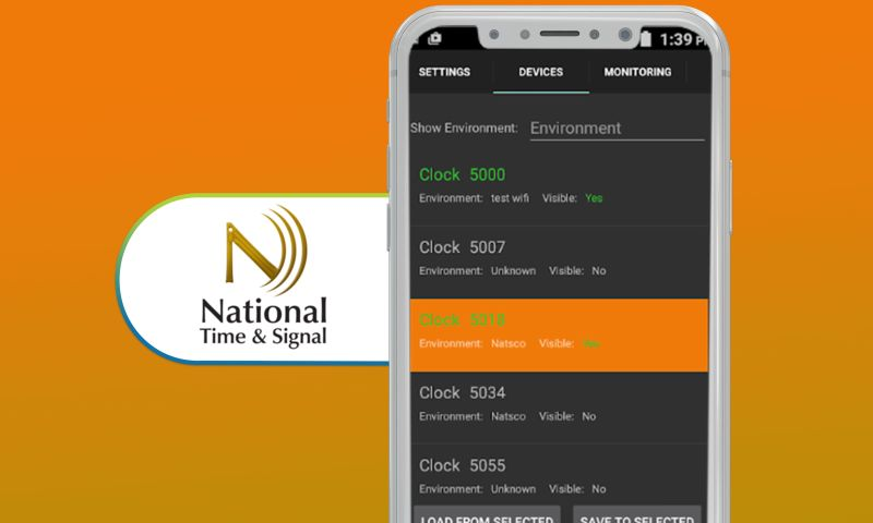 SharpQuest, Inc. - National Time & Signal - Time Configuration