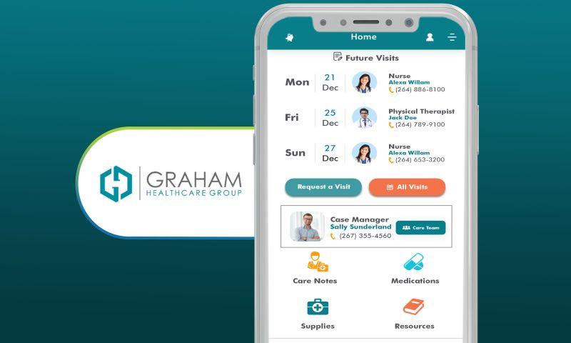 SharpQuest, Inc. - Graham Healthcare Group - Homecare Patient App