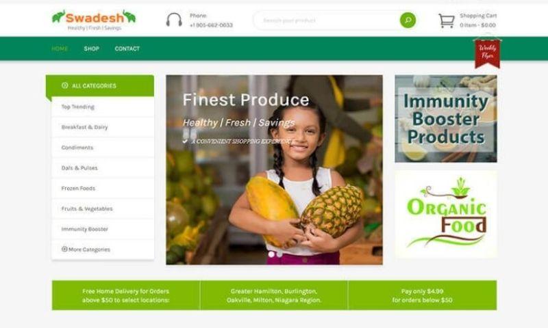 BoTree Technologies - Swadesh - Online Grocery Store
