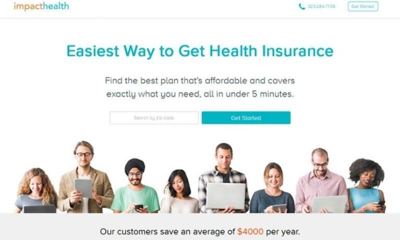 BoTree Technologies - ImpactHealth - Online Health Insurance