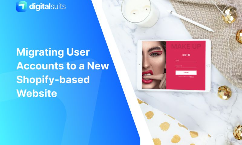 DigitalSuits - User Account Migration to a New Shopify-based Website for Deck of Scarlet