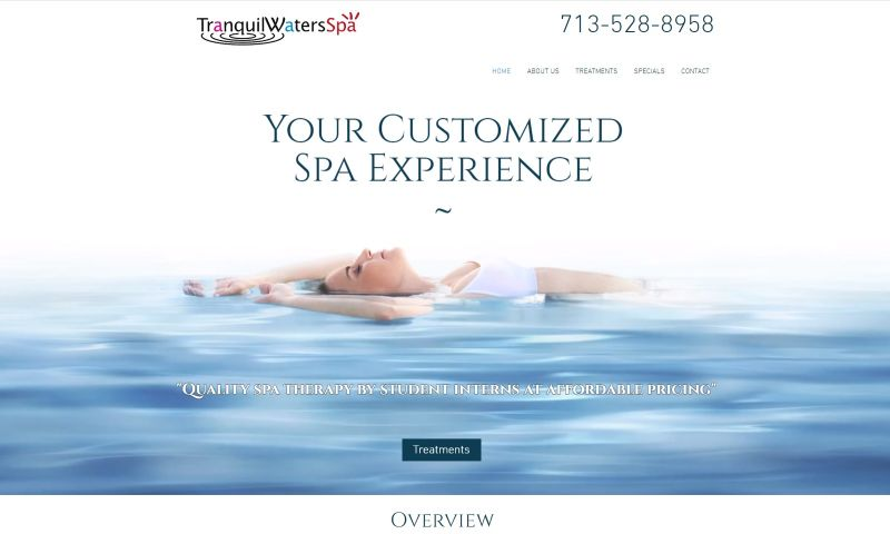 Anytime Digital Marketing - Tranquil Water Spa