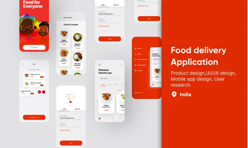 Wingix - Food delivery App