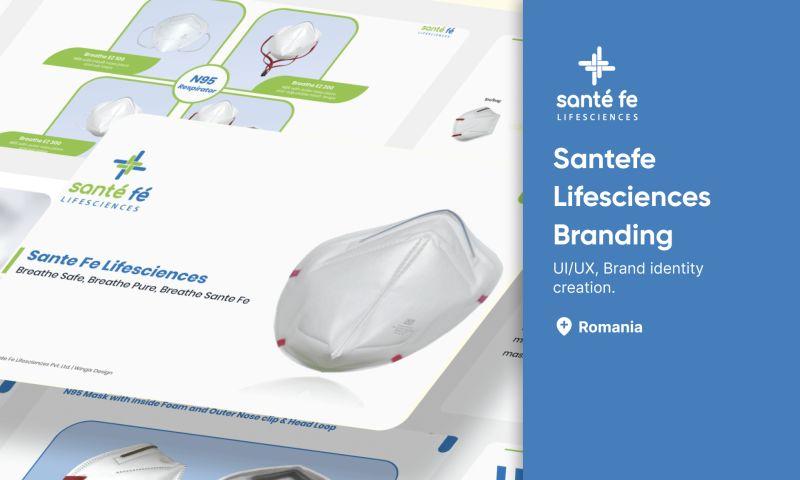 Wingix - Making Santefe Lifescience new identify by designing branding items